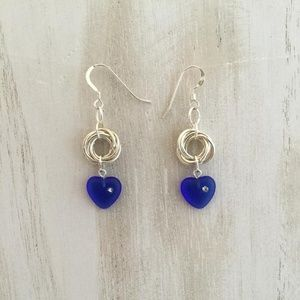 Earrings, Swarovski, Dangle, Heart jewelry